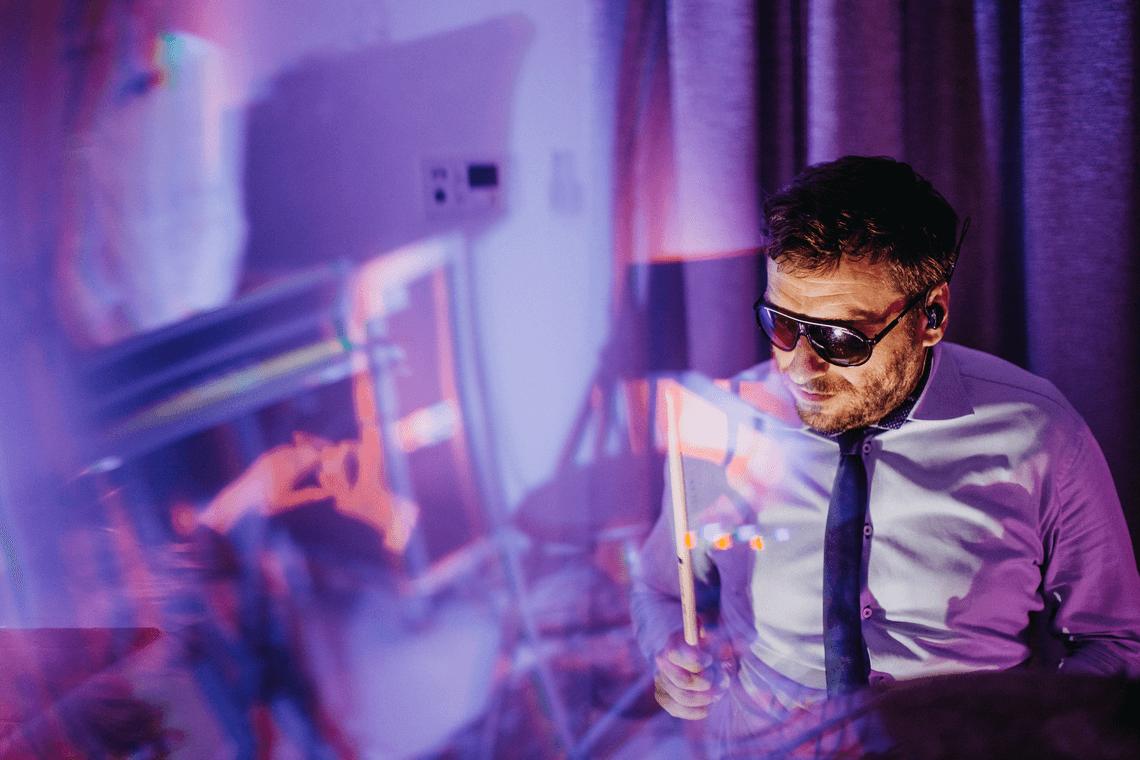 Grajmofon - perkusista piotr na weselu